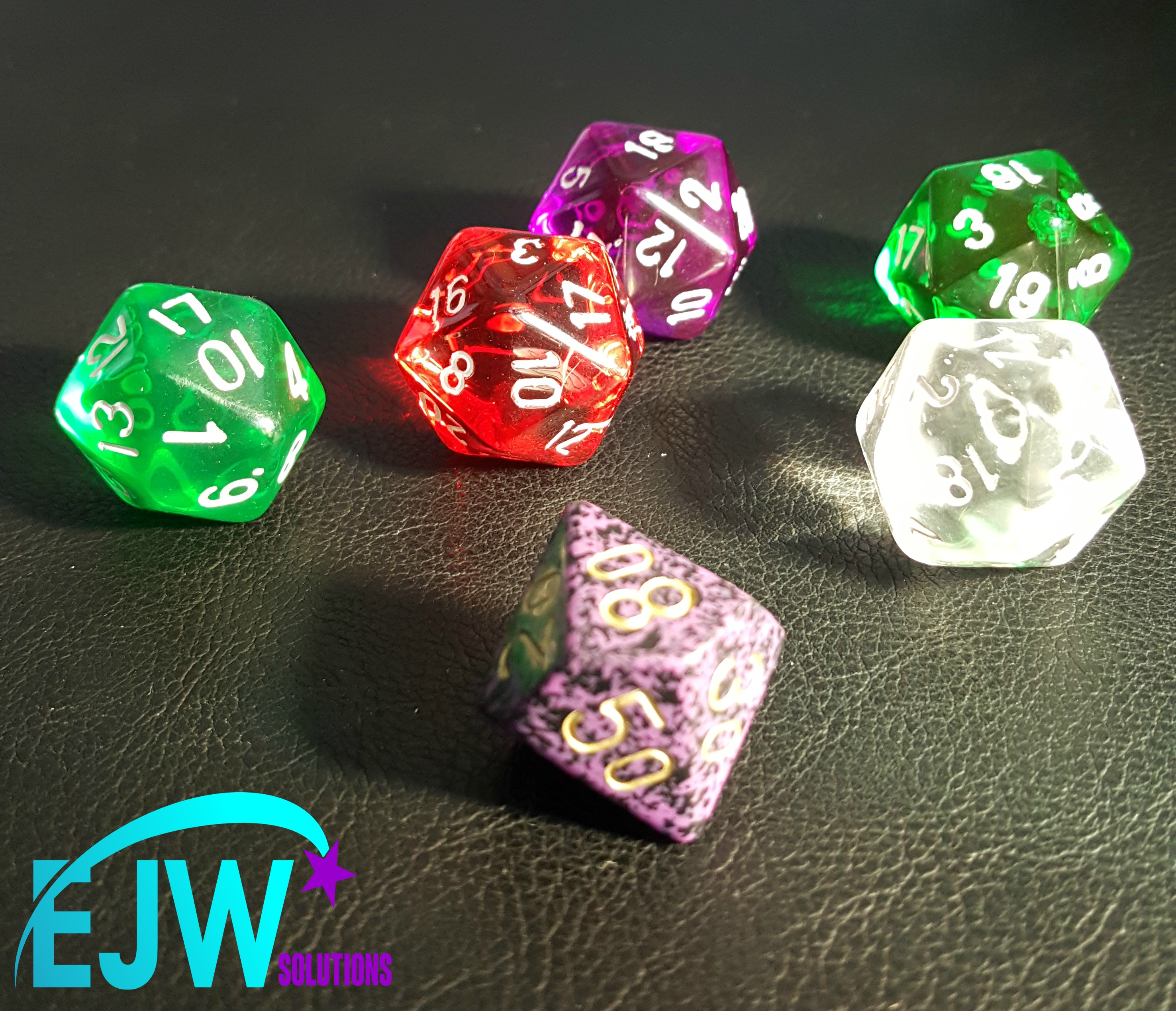 collection of interesting dice